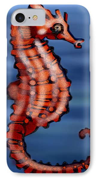 Seahorse Phone Case by Kevin Middleton