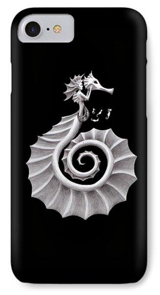 Seahorse Siren IPhone 7 Case by Sarah Krafft