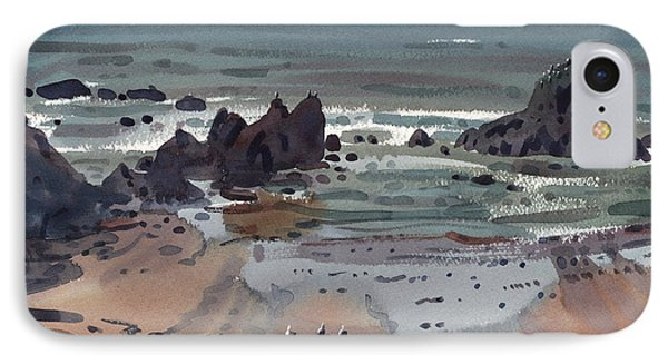 Seal Rock Oregon IPhone Case by Donald Maier