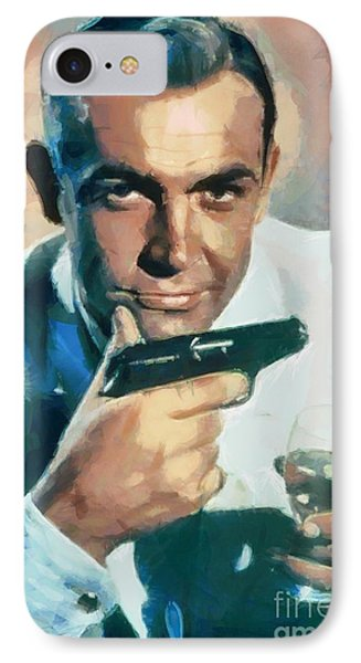 Sean Connery IPhone Case by Sergey Lukashin