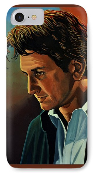Sean Penn IPhone Case by Paul Meijering