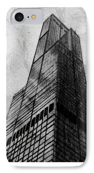 Sears Tower IPhone Case by Jonathan Moore
