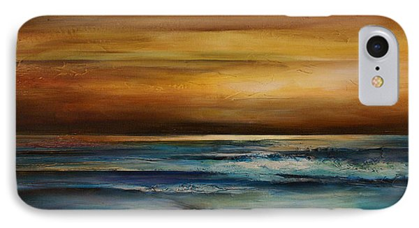 Seascape 1 IPhone Case by Michael Lang