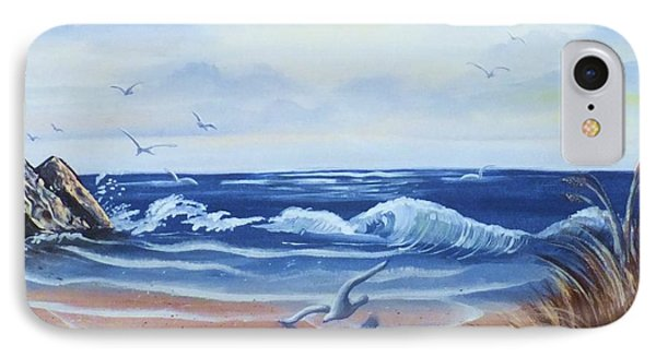 Seascape IPhone Case by Denise Fulmer