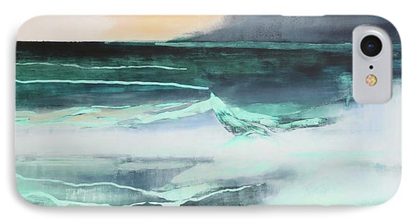 Seascape IPhone Case by Lou Gibbs