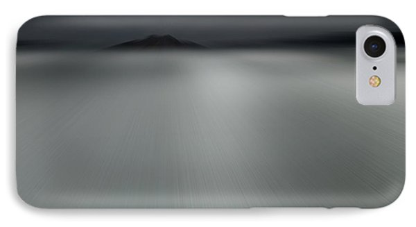 IPhone Case featuring the photograph Seascape Mono by Craig B