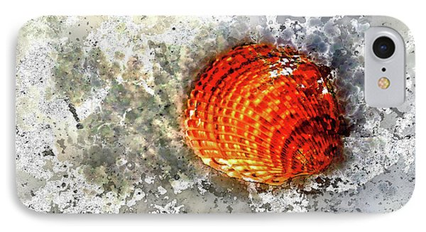 Seashell Art  IPhone Case by HH Photography of Florida