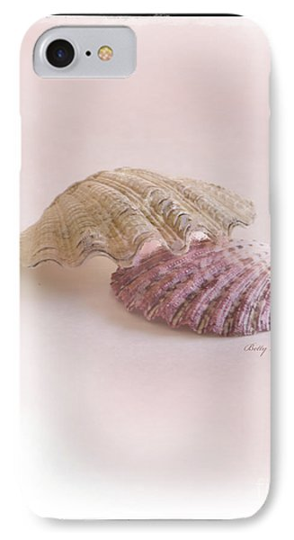 Seashell Love Phone Case by Betty LaRue