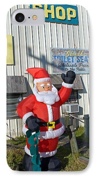Seashell Seats For Christmas Phone Case by Allan  Hughes