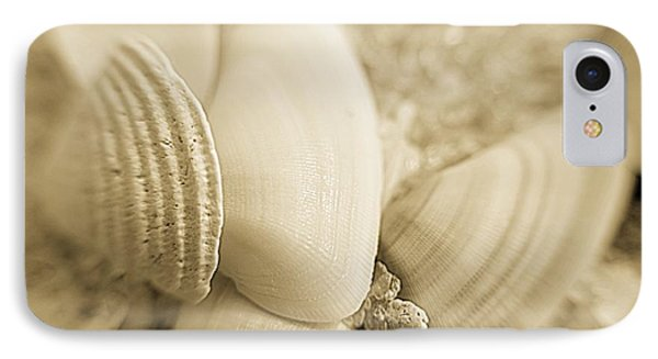 IPhone Case featuring the photograph Seashells by Janice Spivey