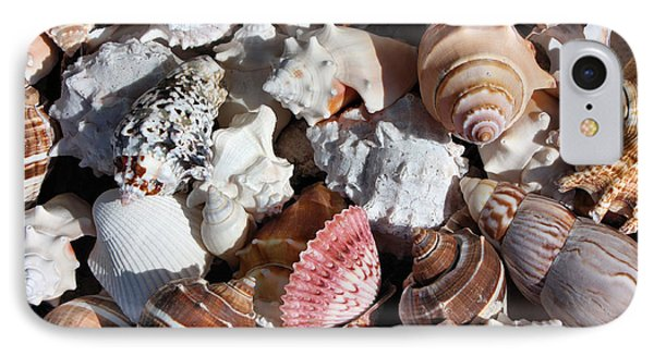 Seashells Phone Case by Kristin Elmquist