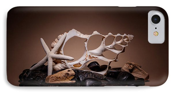 Seashells On The Rocks IPhone Case by Tom Mc Nemar