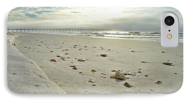 IPhone Case featuring the photograph Seashells On The Seashore by Renee Hardison