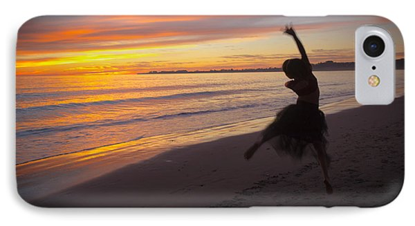 IPhone Case featuring the photograph Seaside Dancer by Lora Lee Chapman
