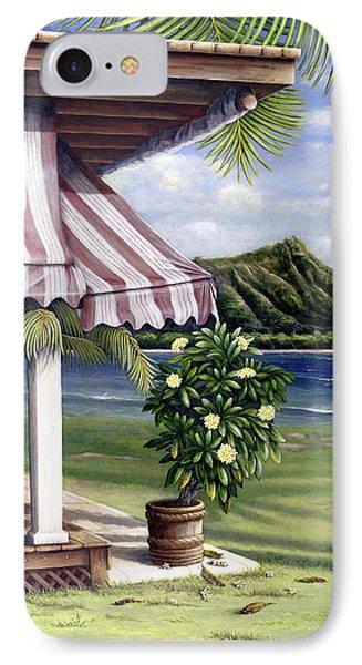 Seaside Hotel Phone Case by Sandra Blazel - Printscapes