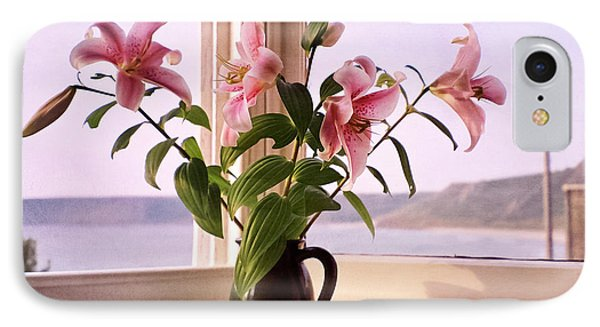 Seaside Lilies IPhone Case by Terri Waters