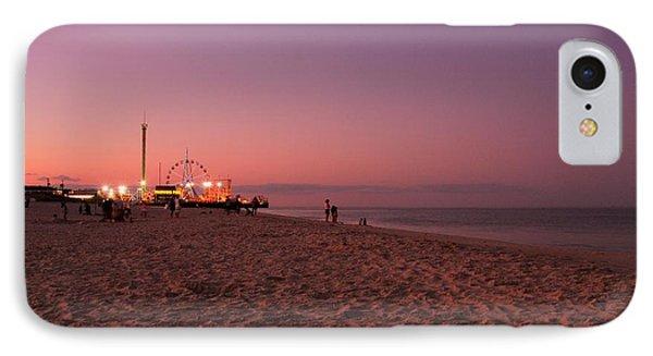 Seaside Park I - Jersey Shore Phone Case by Angie Tirado