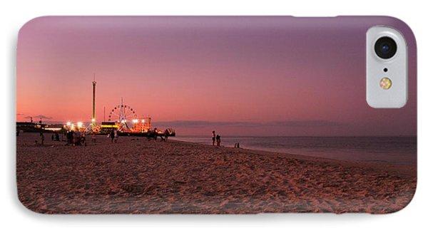 Seaside Park I - Jersey Shore IPhone Case by Angie Tirado