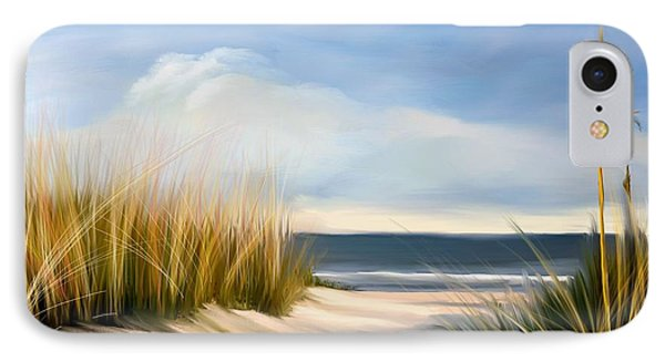 Seaside Path IPhone Case by Anthony Fishburne