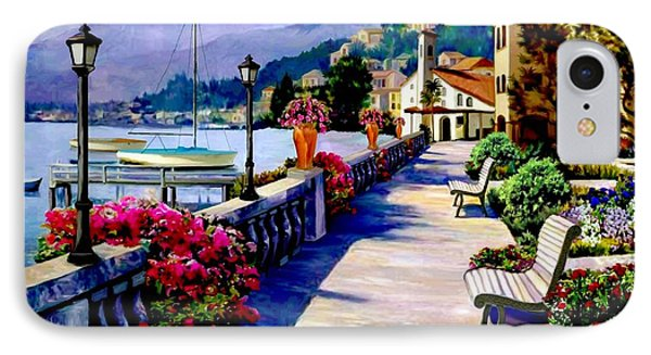 Seaside Pathway IPhone Case by Ron Chambers