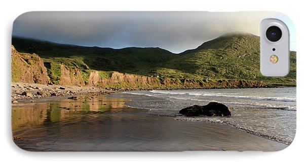 Seaside Reflections - County Kerry - Ireland Phone Case by Aidan Moran