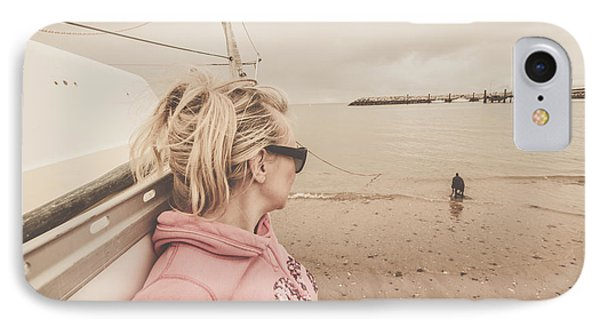 Seaside Stopover IPhone Case by Jorgo Photography - Wall Art Gallery