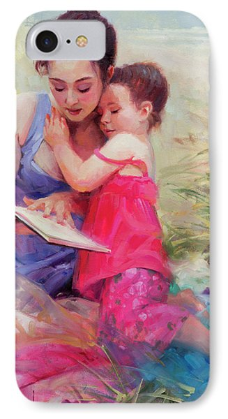 Seaside Story IPhone Case by Steve Henderson