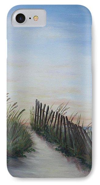 Seaside Sunrise Phone Case by Mary Rogers