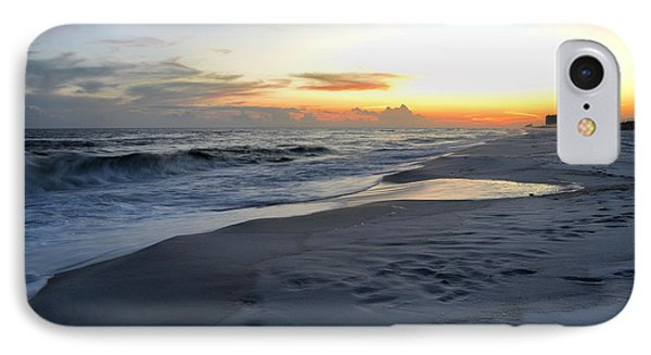 IPhone Case featuring the photograph Seaside Sunset by Renee Hardison