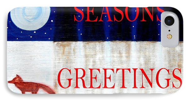 Seasons Greetings 13 Phone Case by Patrick J Murphy