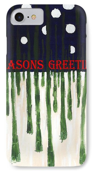 Seasons Greetings 2 Phone Case by Patrick J Murphy