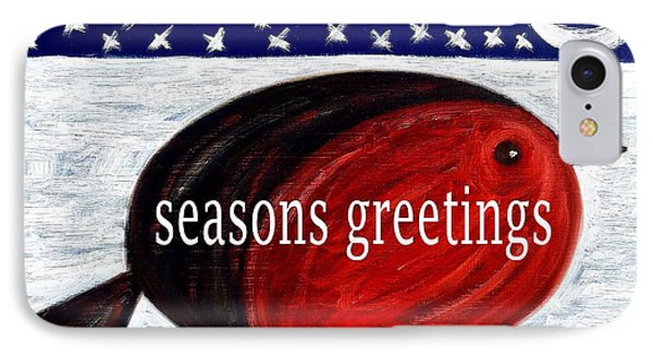 Seasons Greetings 4 Phone Case by Patrick J Murphy