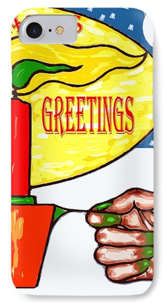 Seasons Greetings 74 IPhone Case by Patrick J Murphy