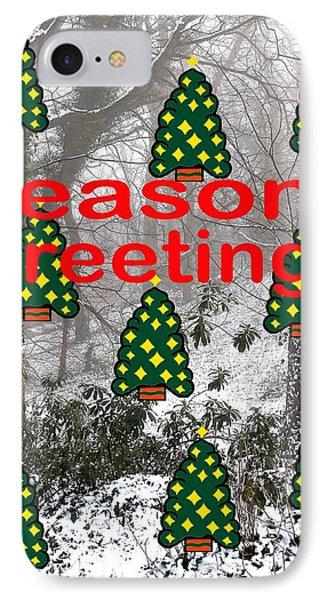 Seasons Greetings 8 Phone Case by Patrick J Murphy