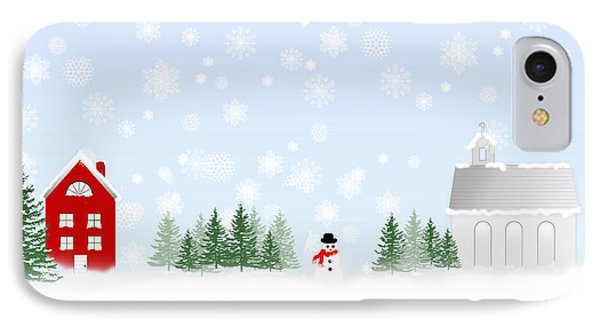 Season's Greetings IPhone Case by Trudy Wilkerson