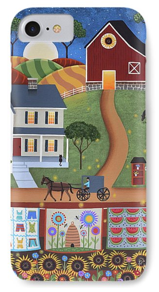 Seasons Of Rural Life - Summer IPhone Case by Mary Charles