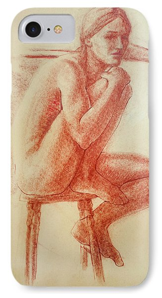Seated At The Barre Phone Case by Sarah Parks