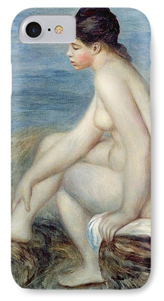 Seated Bather IPhone Case by Renoir