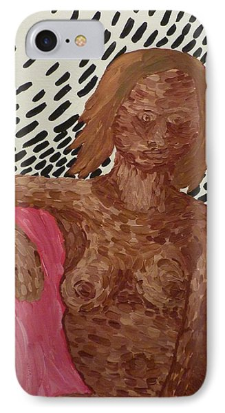 Seated Nude IPhone Case by Joshua Redman