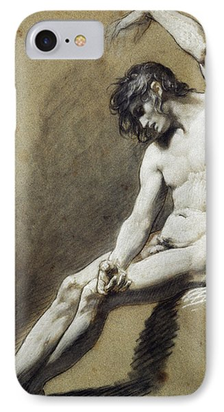 Seated Nude IPhone Case