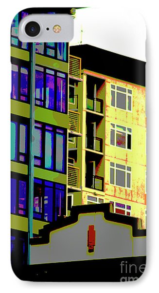 IPhone Case featuring the photograph Seattle Architecture by Yulia Kazansky