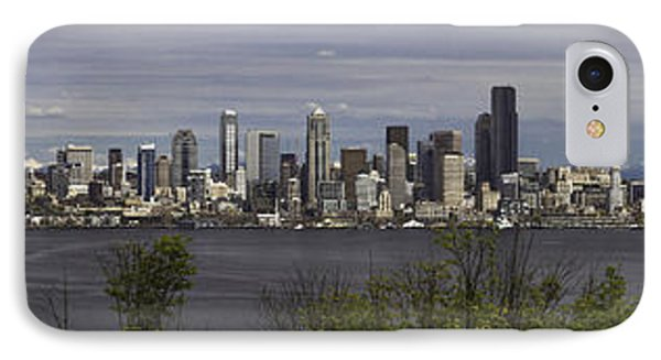Seattle At Its Best IPhone Case by James Heckt