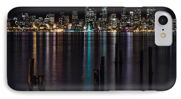 Seattle At Night IPhone Case