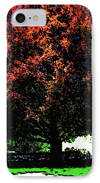 Seattle Chateau Ste Michelle Tree IPhone Case
