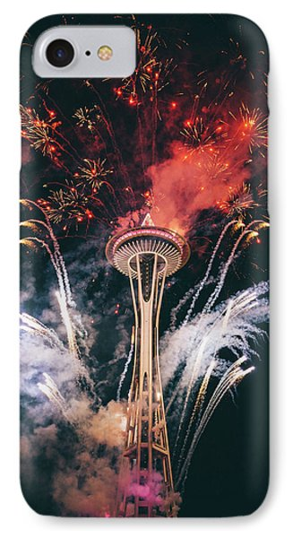 Seattle IPhone 7 Case by Happy Home Artistry