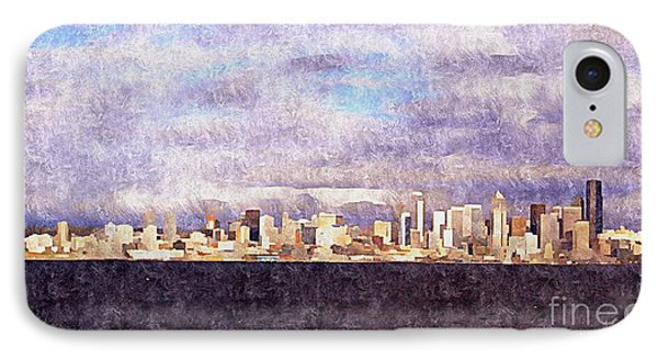 IPhone Case featuring the photograph Seattle by Janice Spivey