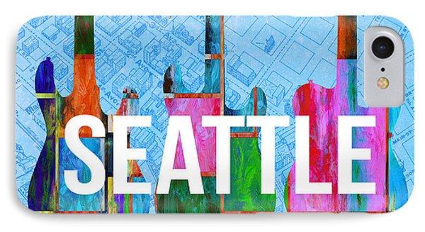 Seattle Music Scene IPhone Case