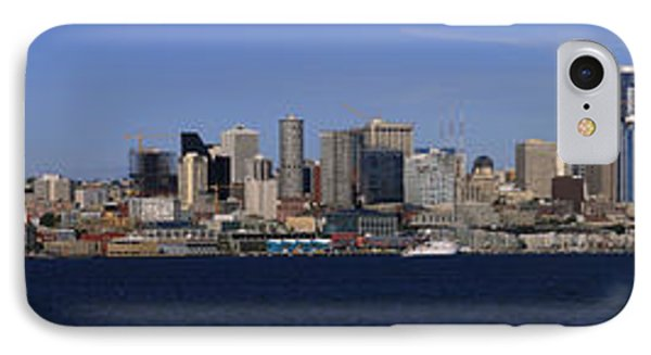 Seattle Panoramic Phone Case by Adam Romanowicz