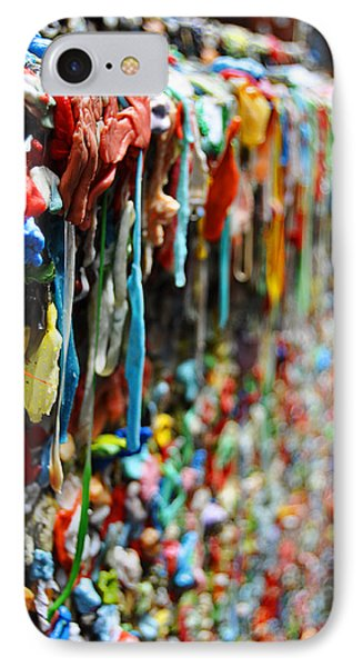 Seattle Post Alley Gum Wall IPhone Case by Pelo Blanco Photo