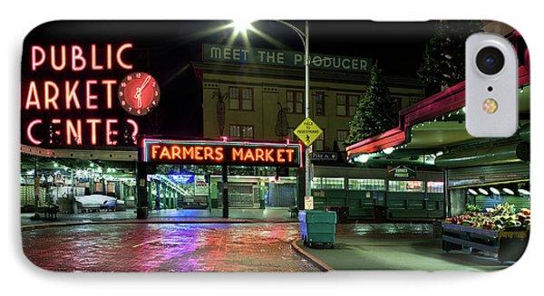Seattle Public Market 1 IPhone Case